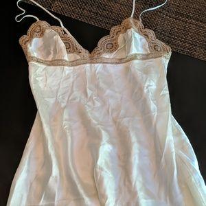 Victoria Secret's chemise. Ivory
